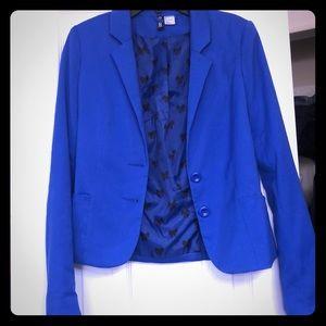 H&M blue blazer jacket